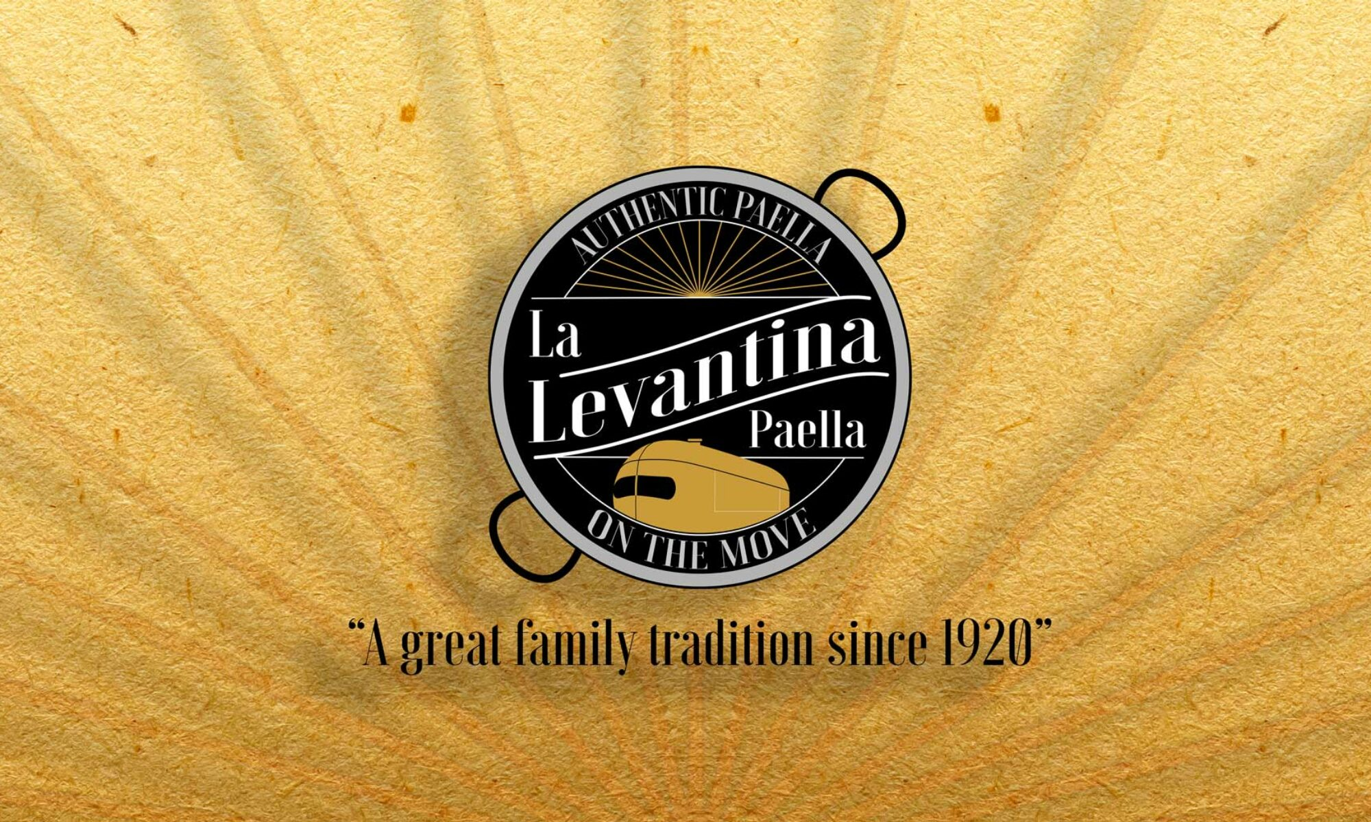 "La Levantina  ""Paella on the Move"""